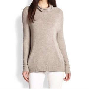 Theory Norman B. Cashmere Cowl Neck Sweater